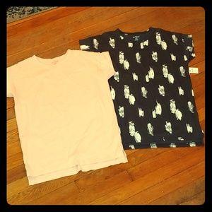 🆕 2-pk girls shirt Cat&Jack sx 16 - XL
